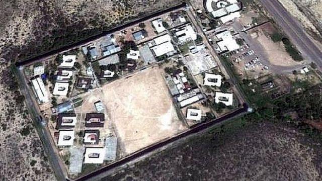 Centro de Reinserção Social (Cereso) de Piedra Negras, em Coahuila, México, em 30 de setembro de 2012
