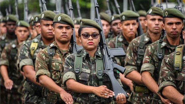 Бразильские военные