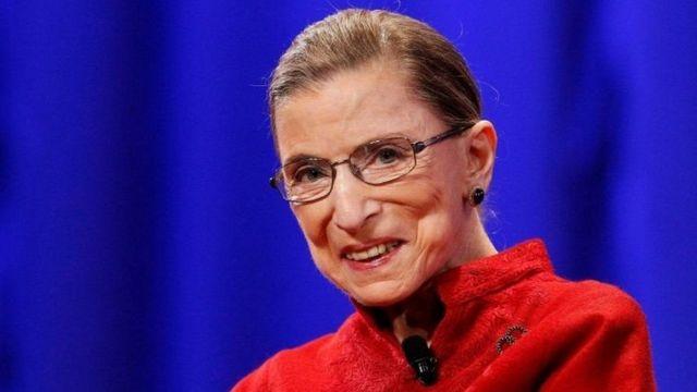Ruth Bader Ginsburg, garsooraha geeriyootay