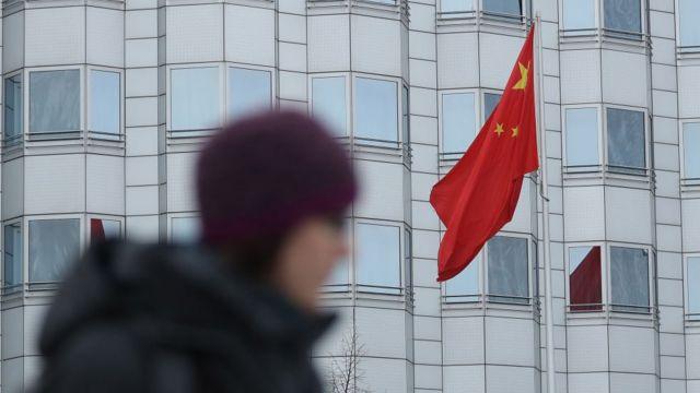 Embajada china en Berlín, Alemania