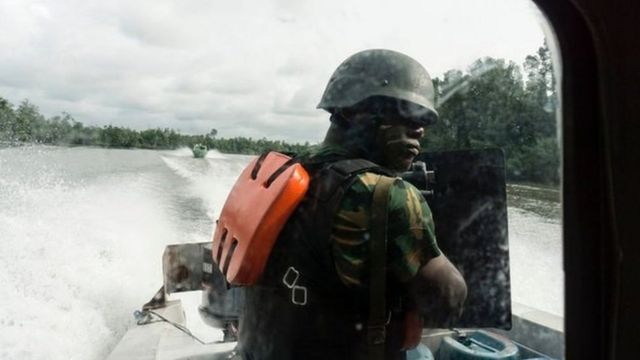 Nigeria Navy sailor