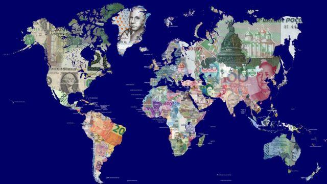 El mundo en monedas