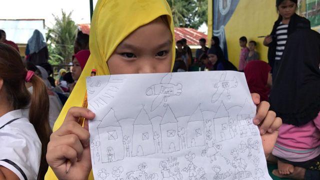 pengungsi Marawi