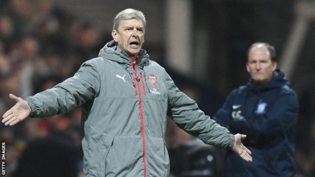 Wenger yatsinze incuro zitatu gusa mu higanwa rya Premier League amenyereza Arsenal