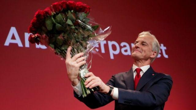 Stoere, ganador de las elecciones noruegas
