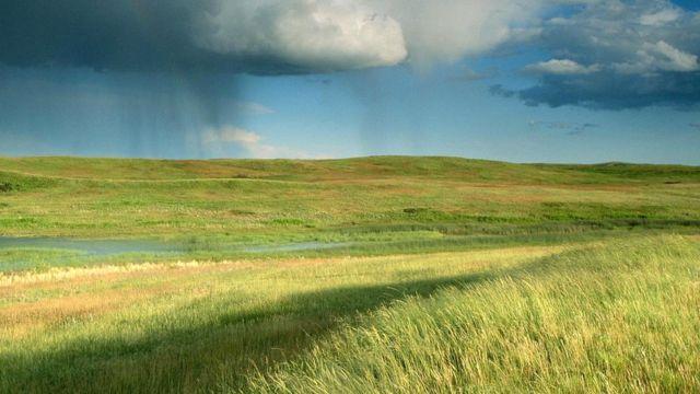 Метод засева облаков был впервые разработан для того, чтобы положить конец затяжной засухе в Северной Дакоте
