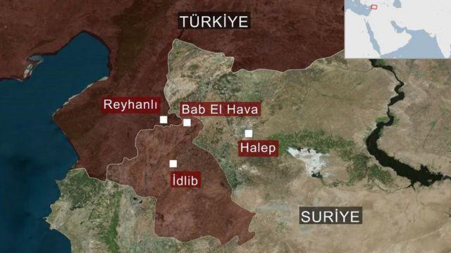 Bölge haritası