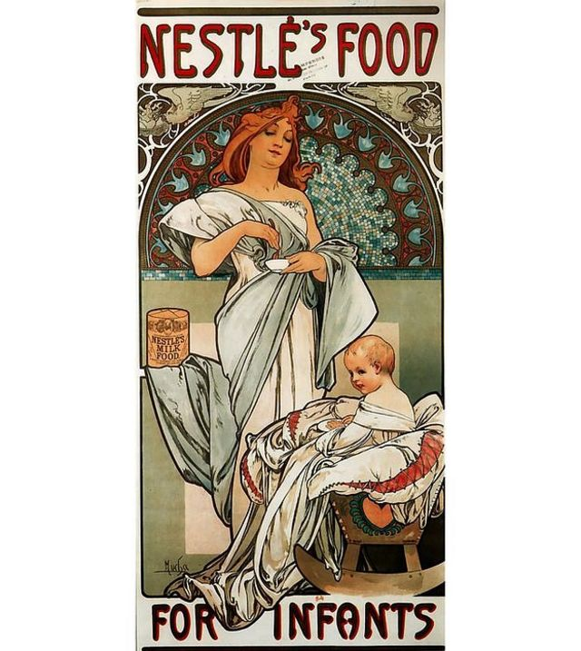 Publicidad 1897 hecha por Alphonse Mucha