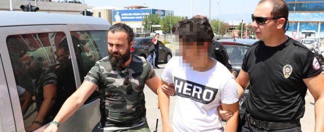 Gözaltına alınan en küçük kişi 13 yaşında bir çocuk