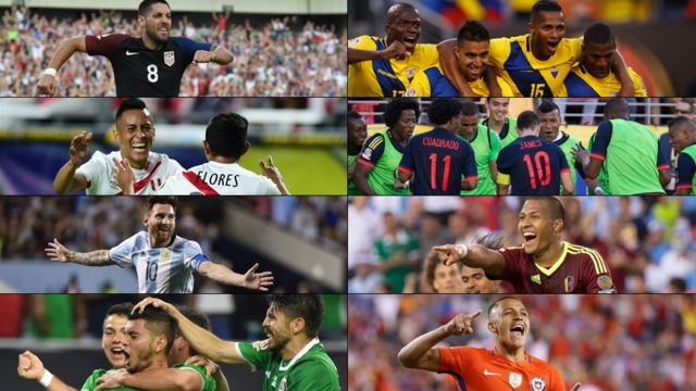Los protagonistas de los cuartos de final.