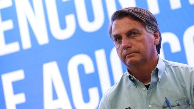 Bolsonaro em encontro com empresários