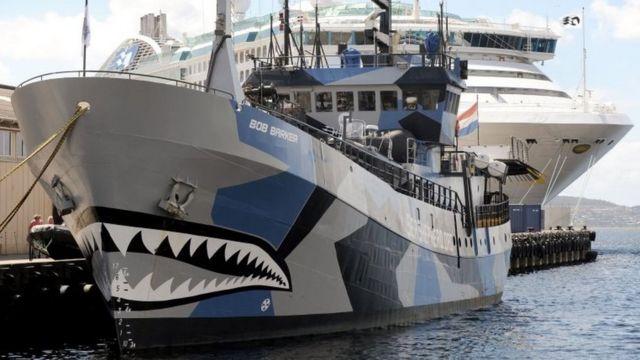 シー・シェパードが使用している船の一つ「ボブ・バーカー」
