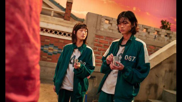 Sae-byok, interpretada pela modelo Jung Ho-yeon, em cena de Round 6