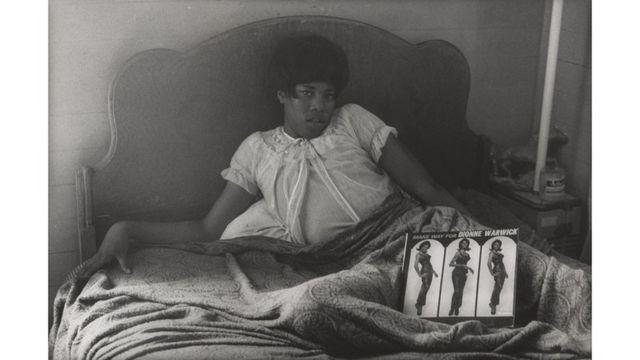 Danny Lyon (1942), Pumpkin Reneé, Galveston, Texas, 1967