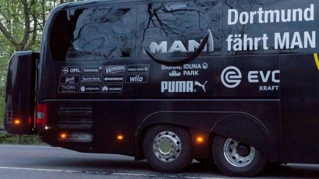 боруссія, дортмунд, автобус, вибух