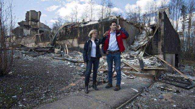 Rachel Notley na Justin Trudeau