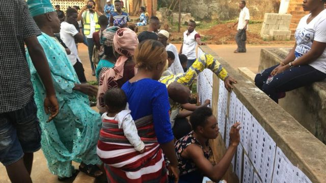 Nigeria police send 30, 000 police men to do security for di election