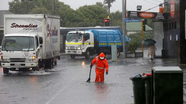 Flooding in Auckland, 12 April