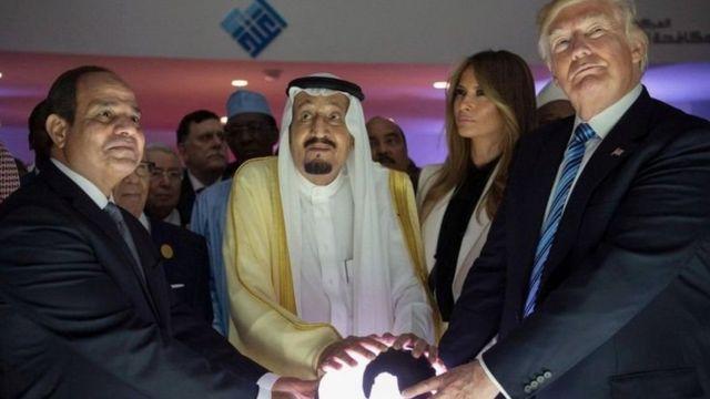 Saudia ndio iliokuwa kituo cha kwanza cha rais Donald Trump alipochukua madaraka