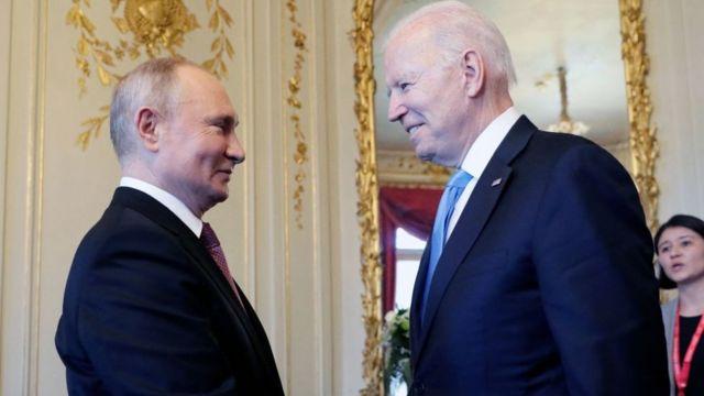 Biden y Putin: qué se espera del primer (y tenso) encuentro entre los dos mandatarios - BBC News Mundo