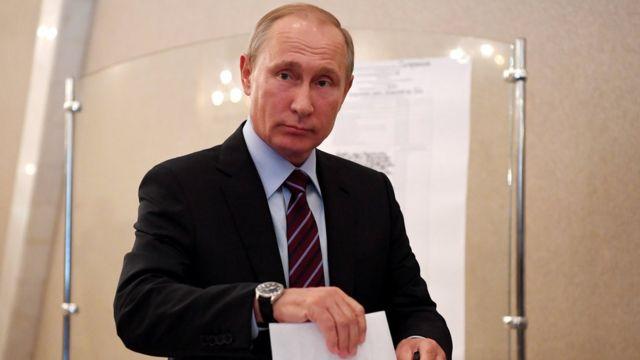 Володимир Путін голосує у Москві на місцевих виборах