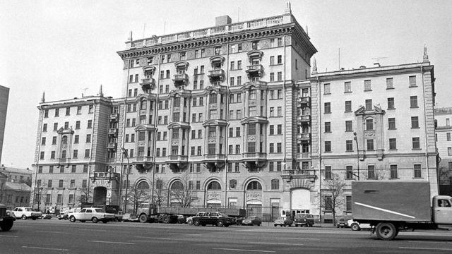 1983年,美国在莫斯科的大使馆(photo:BBC)