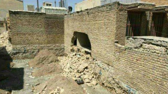 عکس خبر آنلاین از زلزله کرمانشاه