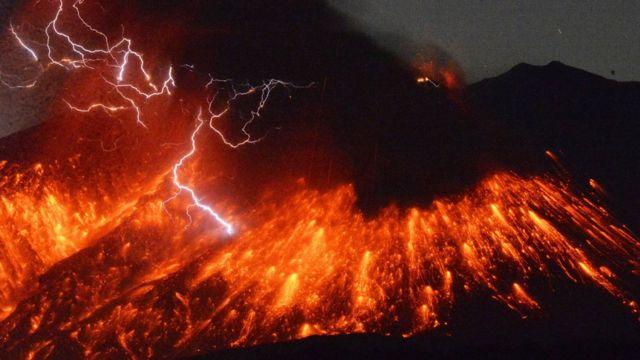 Sakuracima vulkanı