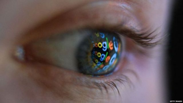 Eye Just like Big Brother, Google knows a lot