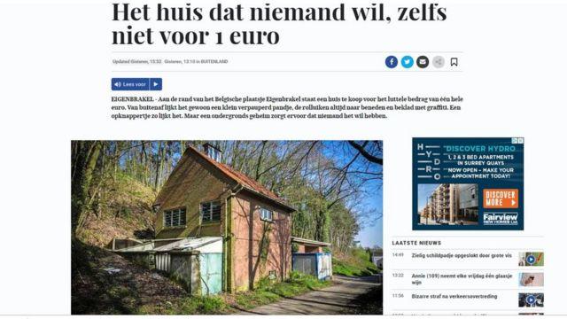 De Telegraaf'taki haber