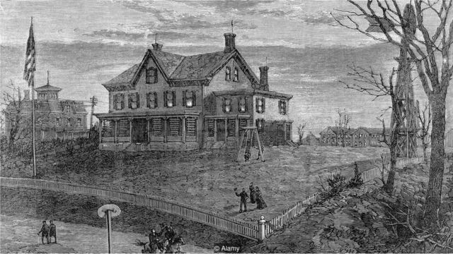 न्यूजर्सी, थॉमस अल्वा एडिसन, मेन्लो पार्क, एडिसन का घर, एडिसन की प्रयोगशाला, एडिसन की लेबोरेटरी