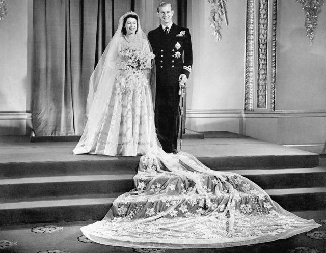 Принцеса Єлизавета і принц Філіп, весілля