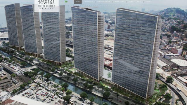 Projeto de torres de Trump no Rio