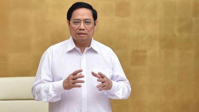 Thủ tướng Phạm Minh Chính trong phiên họp thường kỳ mỗi tháng ngày 2/10.