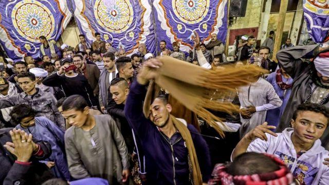 من الاحتفال بالمولد النبوي في القاهرة 2019