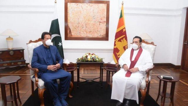 وزیراعظم عمران خان کا دورہ سری لنکا