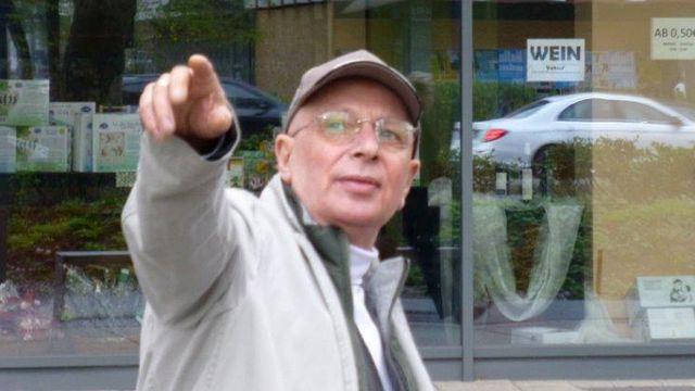 Eckart Mann, 48 anos depois de ser preso