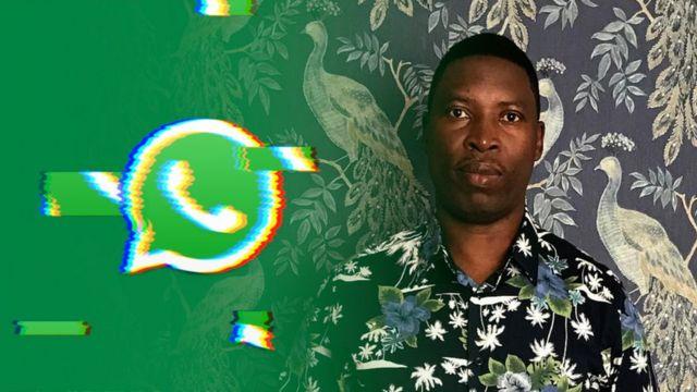 Faustin Rukundo, victime de Whatsapp