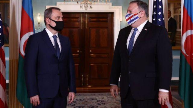پومپیو  ناگورنو قرہباخ تنازع: امریکی ثالثی سے آرمینیا اور آذربائیجان ایک ماہ میں تیسری مرتبہ جنگ بندی پر متفق  115068860 gettyimages 1229237688