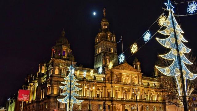 Your pictures of Scotland's Christmas lights