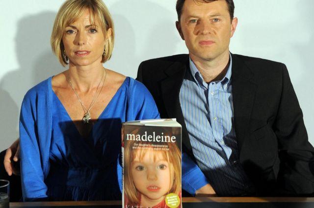 Kate y Gerry McCann al publicar su libro