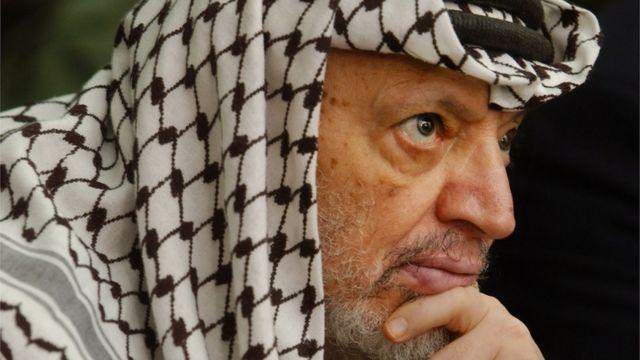 لزعيم الفلسطيني الراحل ياسر عرفات