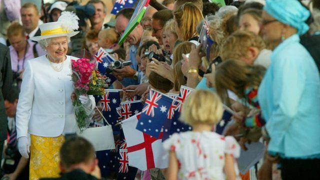 The Queen in Australia in 2006