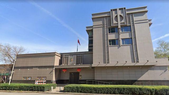 中国驻休斯顿总领馆(photo:BBC)