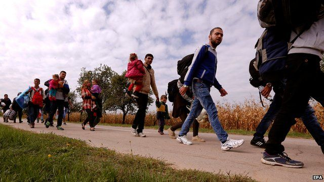 Migrant crisis: Authorities struggling to cope with 'massive influx'