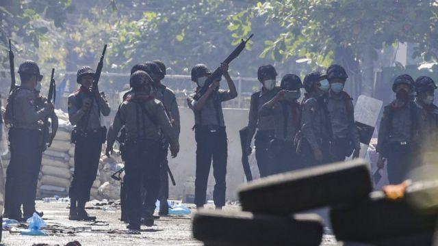 kudeta Myanmar