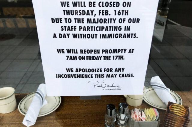 Algunos restaurantes cerraron en varias ciudades grandes del país.