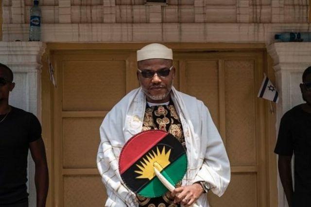 Nnamdi Kanu ya kafa kungiyar Indigenous People of Biafra, IPOB, wadda take farfado da batun kafa Biafra
