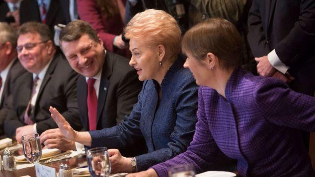 Лидеры Литвы, Эстонии и Латвии