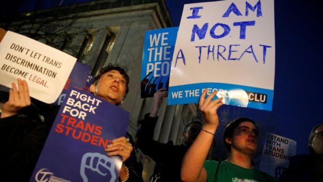 अमरीका में अधिकारों के लिए विरोध प्रदर्शन